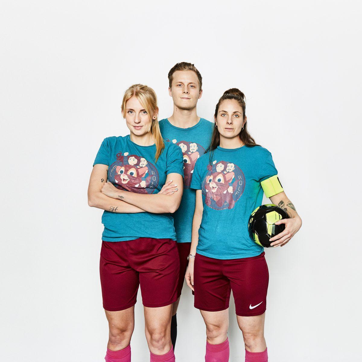 3 fotballspelare