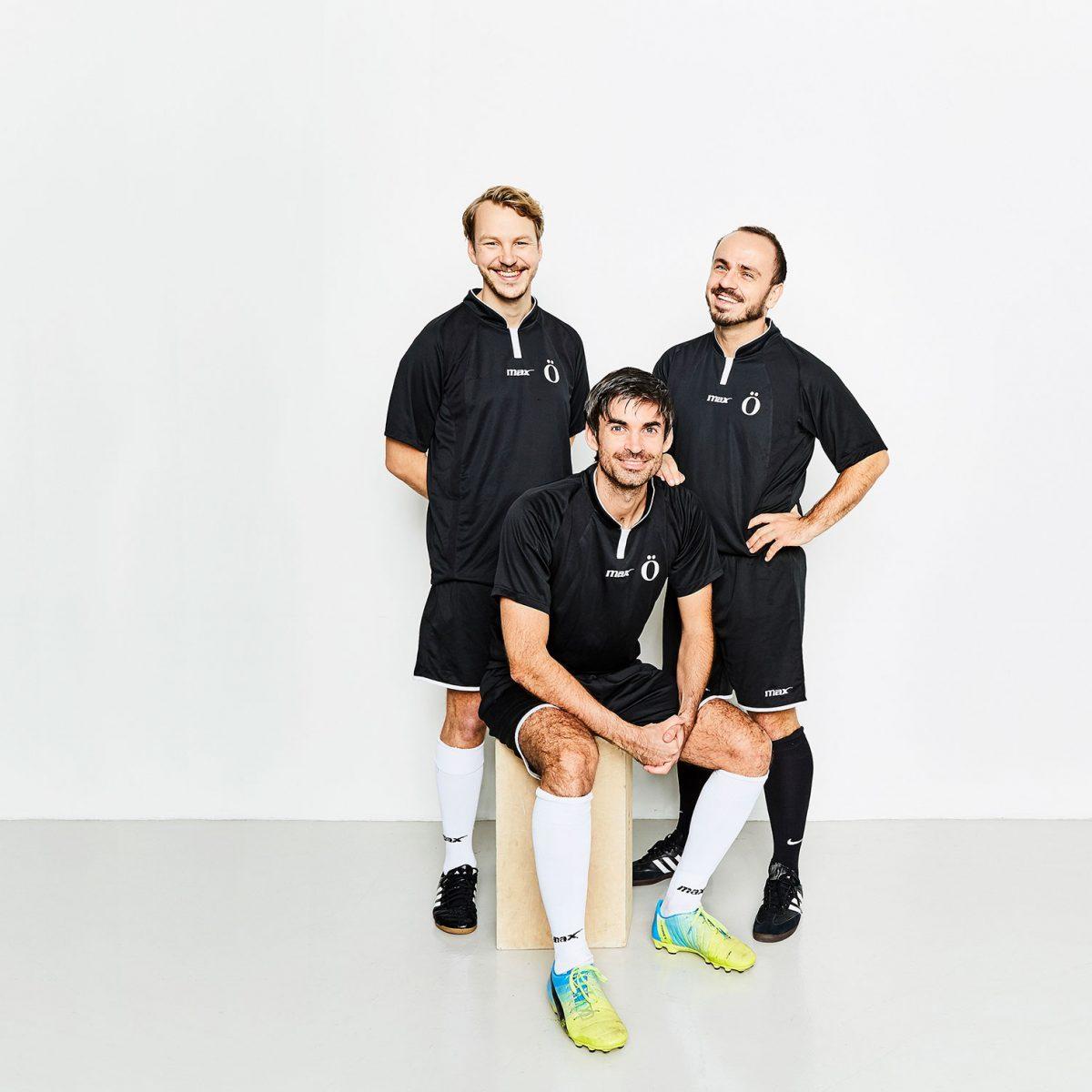 3 fotbollspelare
