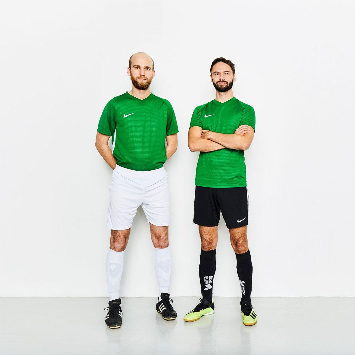 2 fotbollspelare